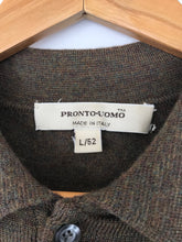 Pronto Uomo Merino Collared Knit