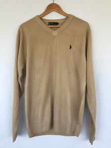 The Tan Polo Cashmere