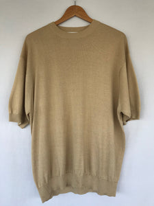 The Silk Knit Tee