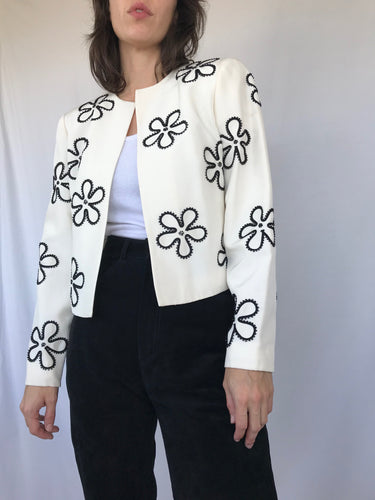 The Flower Bead Blazer