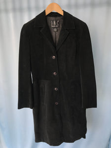 The Black Suede Coat