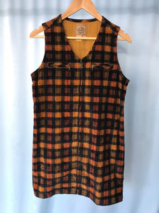The Plaid Cord Dress