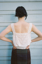 The Broderie Blouse