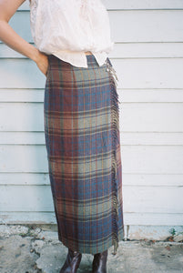 The Ralph Blanket Skirt