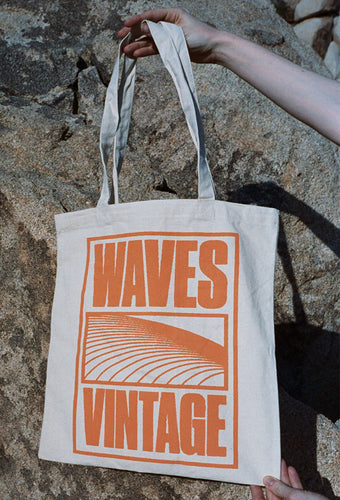 Waves Tote Orange