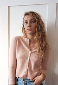 Baby Pink Cashmere Sweater