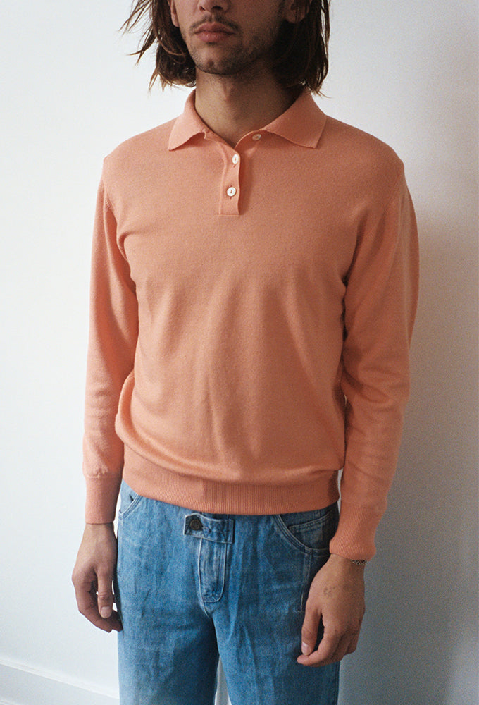 Peachy Merino Sweater