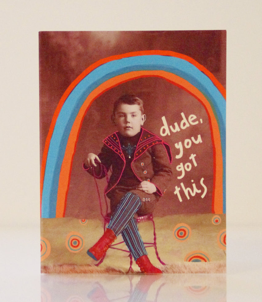 Greeting Card - Dude
