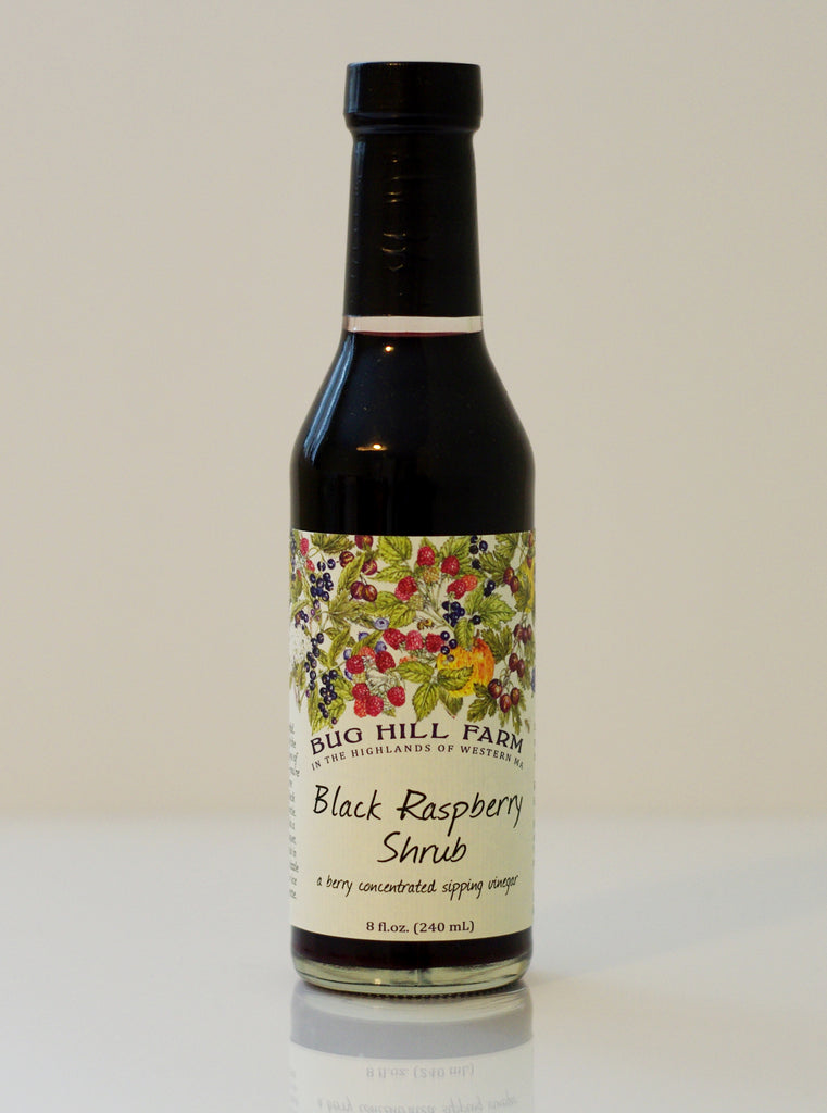 Black Raspberry Shrub