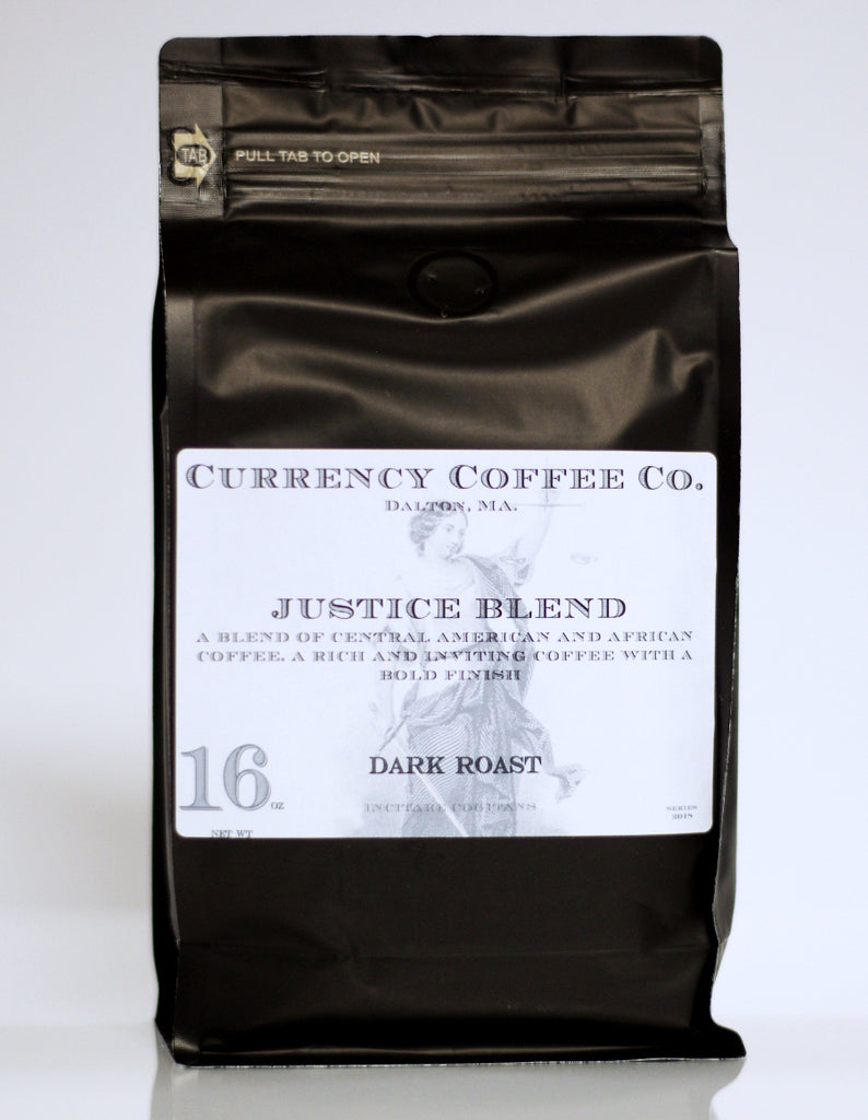 Currency Coffee - Justice Blend WHOLE BEAN