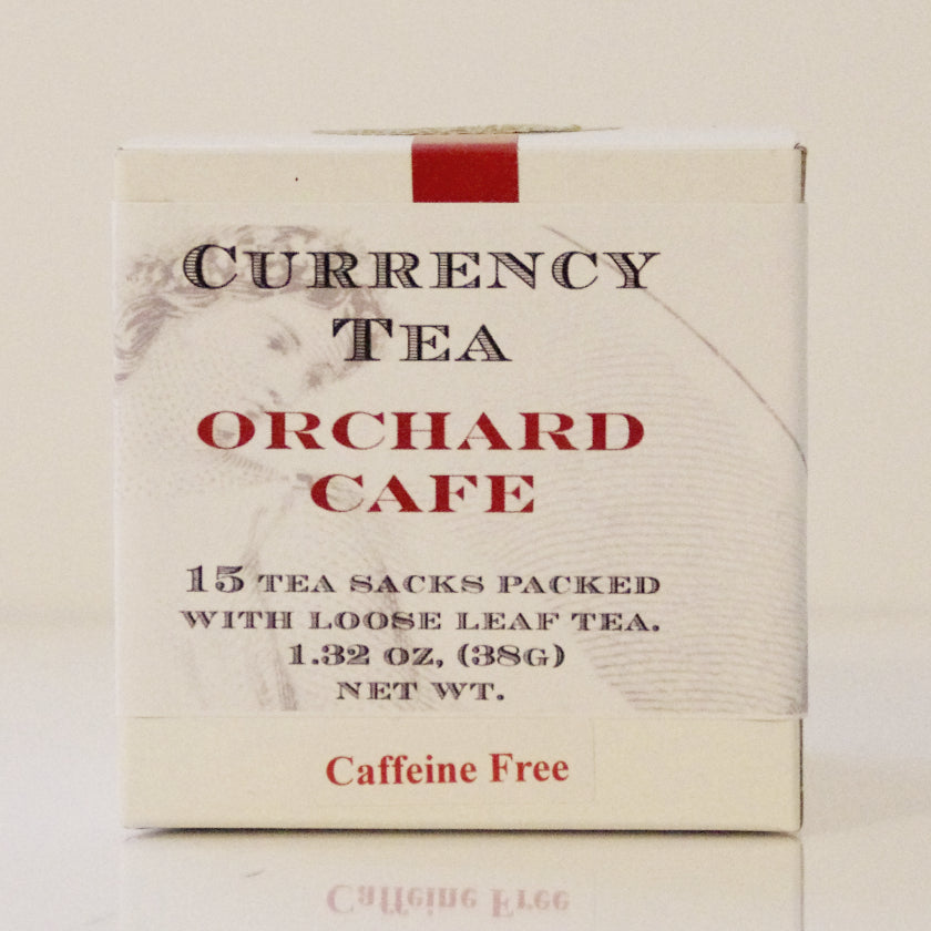 Currency Tea - Orchard Cafe