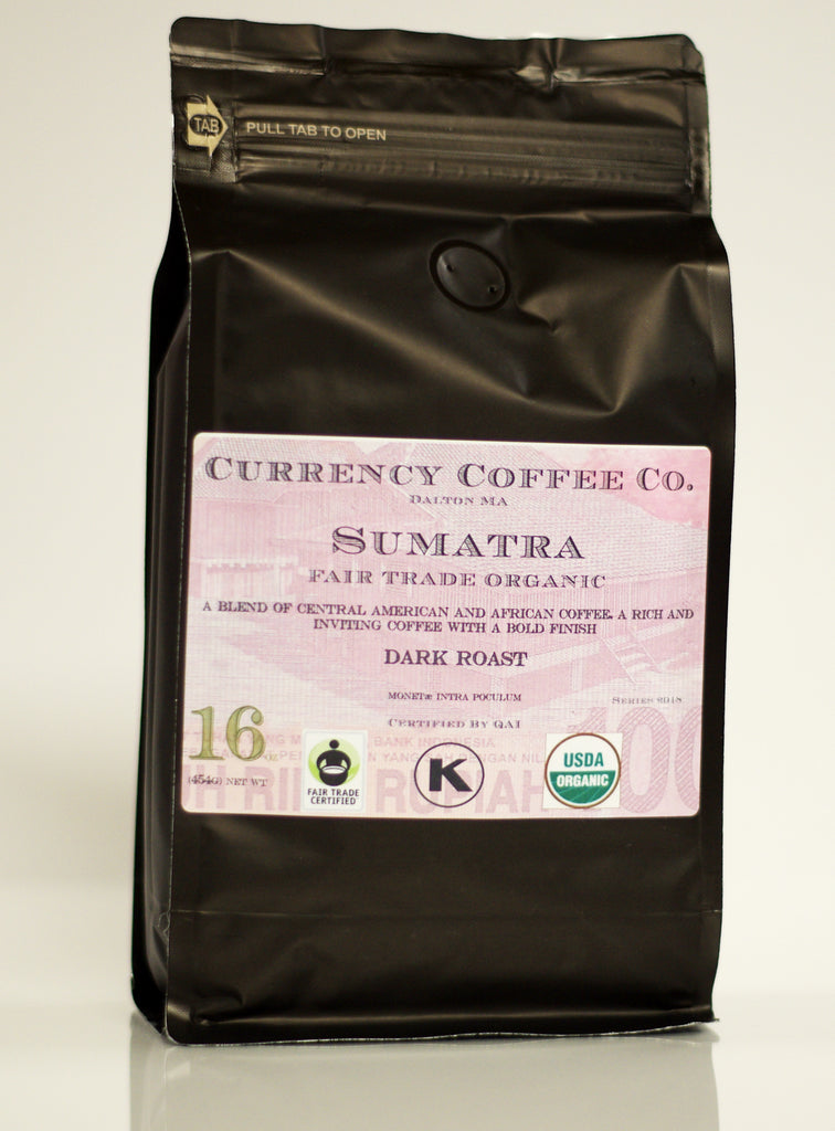 Currency Coffee - Sumatra