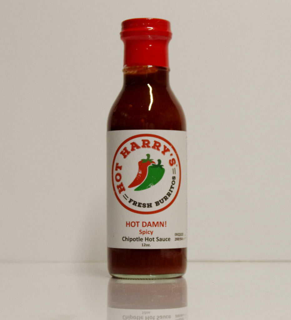 Hot Harry's Taco & Burrito Sauce - Hot Damn!