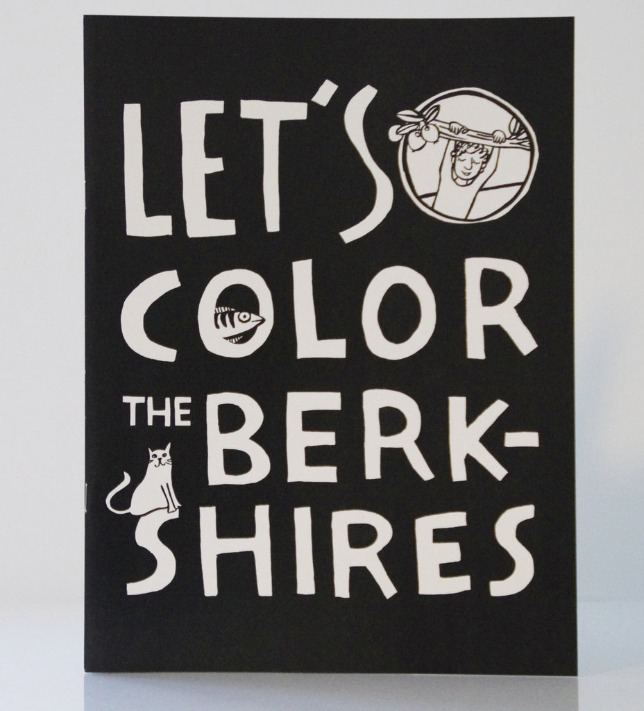 Let's Color the Berkshires Coloring Book