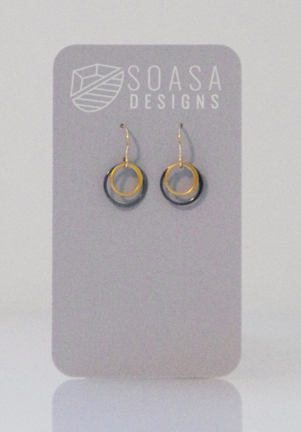 Ripple Collection Earrings - Gold