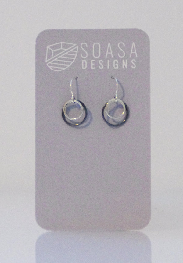 Ripple Collection Earrings - Silver