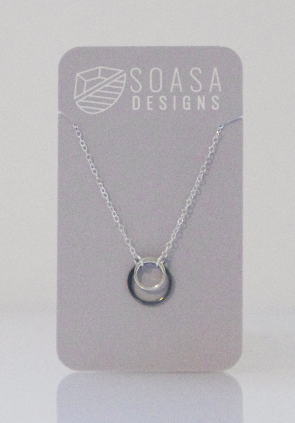 Ripple Collection Necklace - Silver