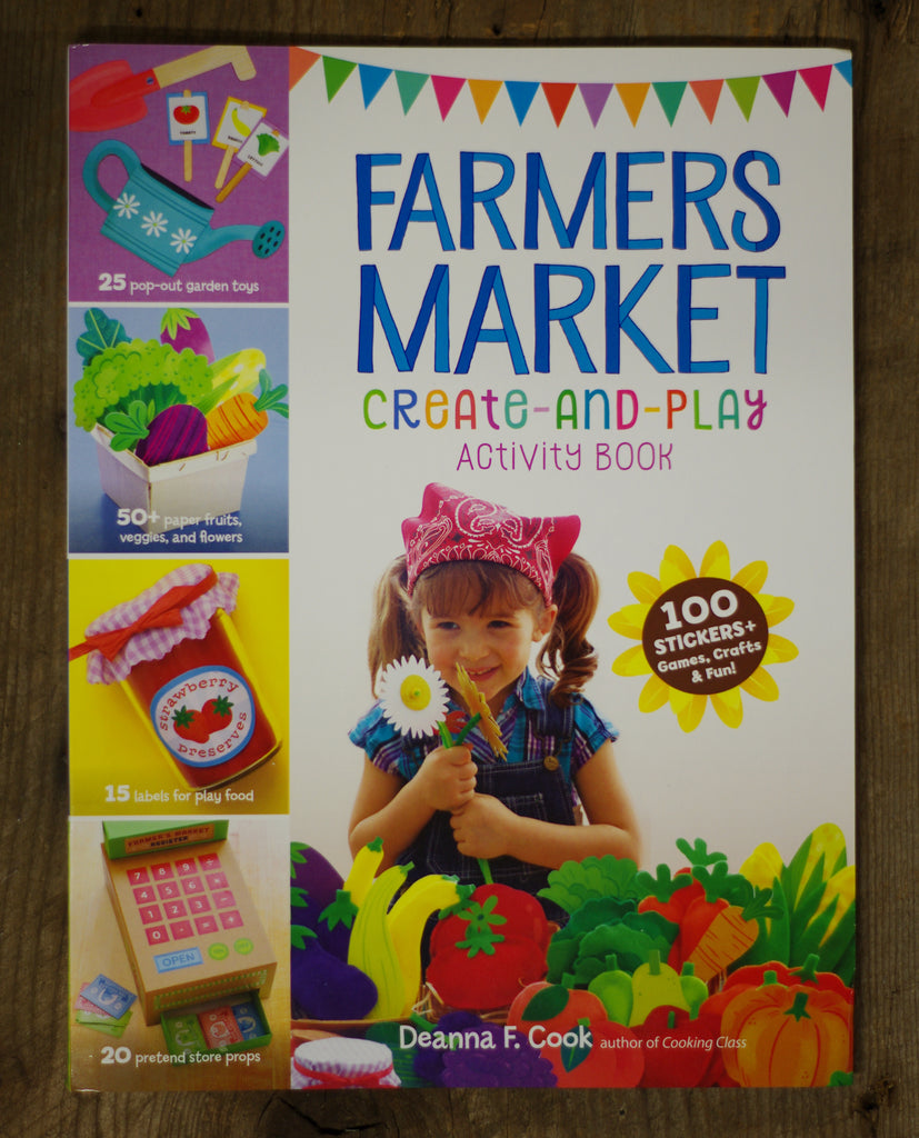 Farmers Market Create and Play Activity Book