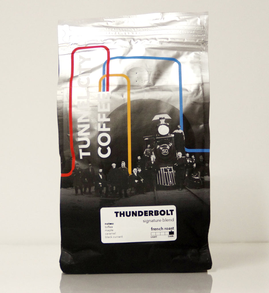 Tunnel City Coffee - Thunderbolt Blend