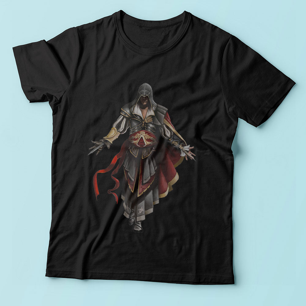 Assassins Creed Ezioin Armor Of Atlair Men'S T Shirt