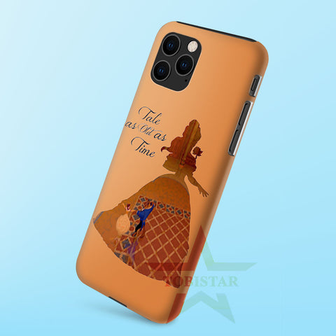 Belle Quote Beauty The Beast Disney   iPhone 11 Case