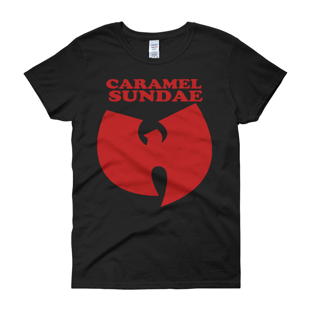Caramel Sundae Wu Tang Ice Cream Women'S T Shirt
