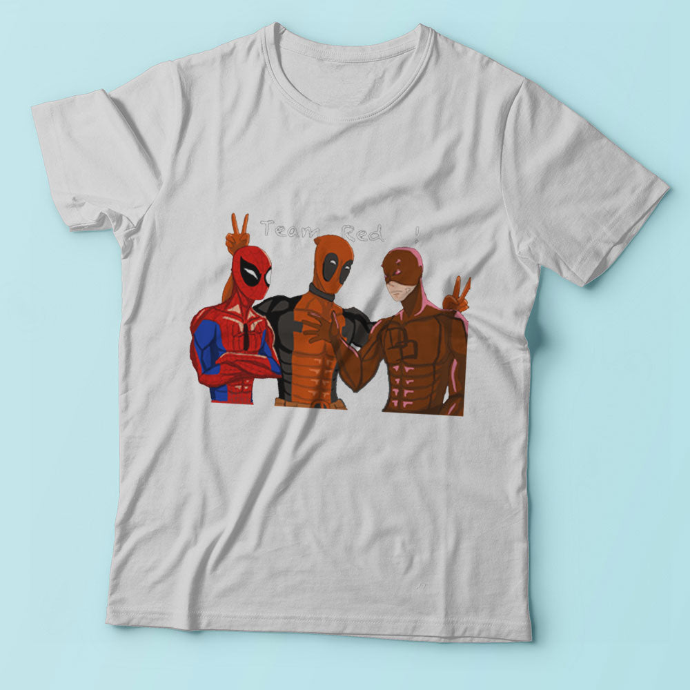 Deadpool Spiderman And The Flash Always Friend Men'S T Shirt