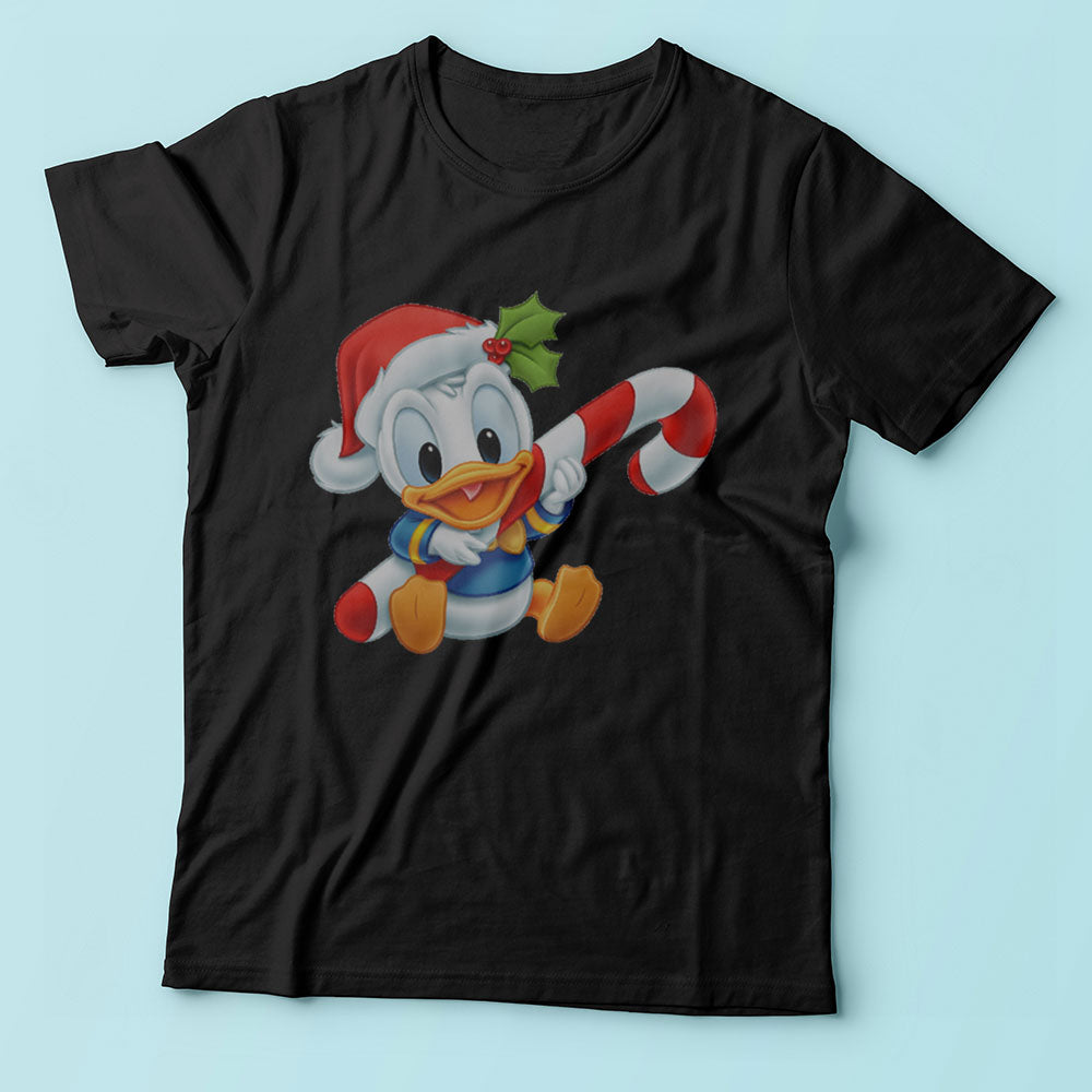 Donald Duck Christmas Men'S T Shirt