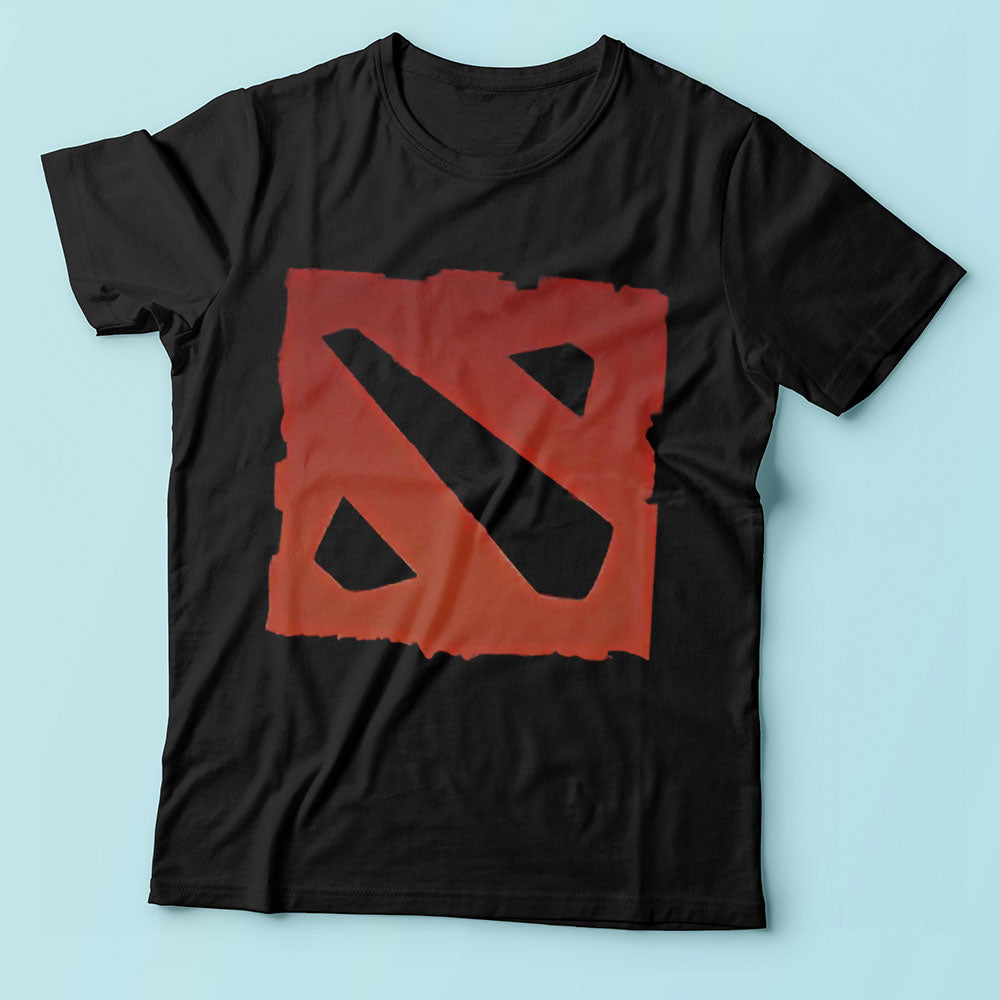 Dota 2 Logo Warcraft Gamming Online Men'S T Shirt
