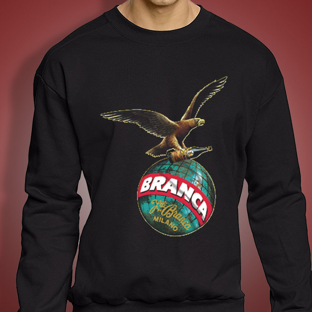 Fernet Branca Logo Hawk Men'S Sweatshirt