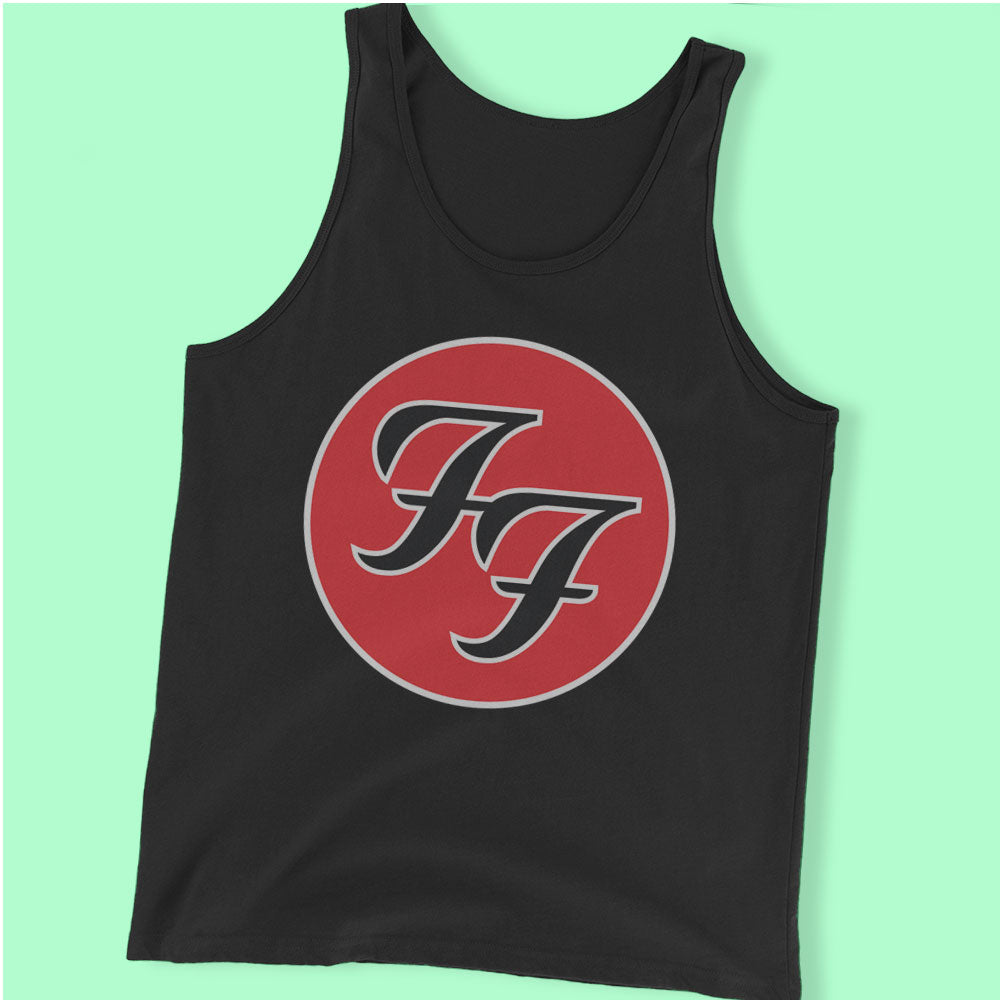 Foo Fighter Dave Grohl Rock Band Men'S Tank Top
