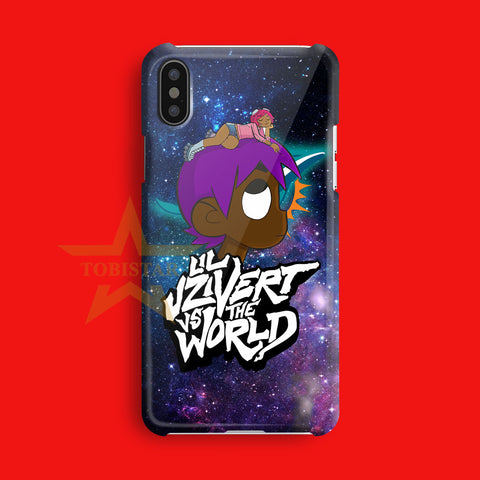 Lil Uzi Vert The Man Vs World galaxy iPhone X Case
