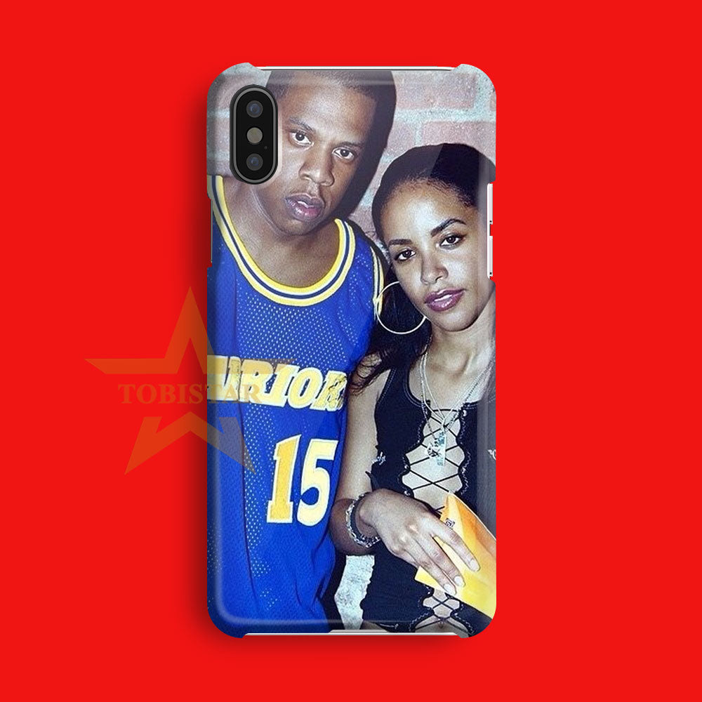 aaliyah and jay z this friends iPhone X Case