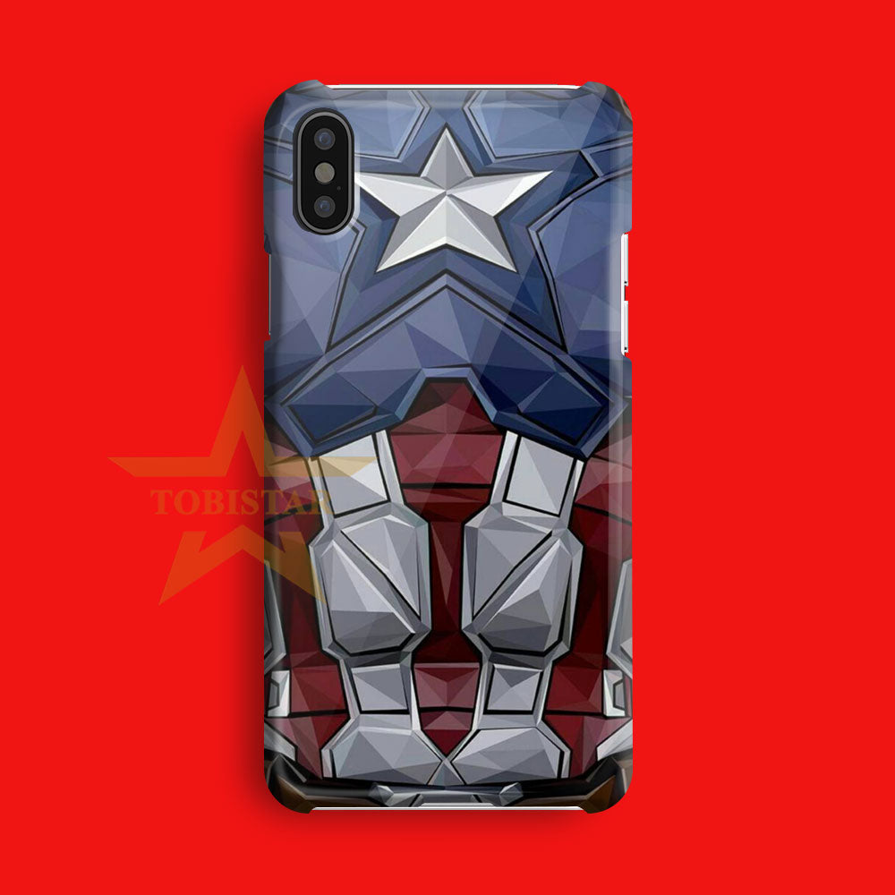 captain america custom case iPhone X Case