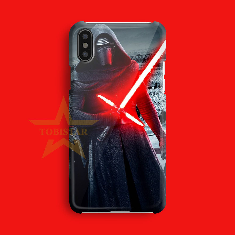 darth vader sword light knight iPhone X Case