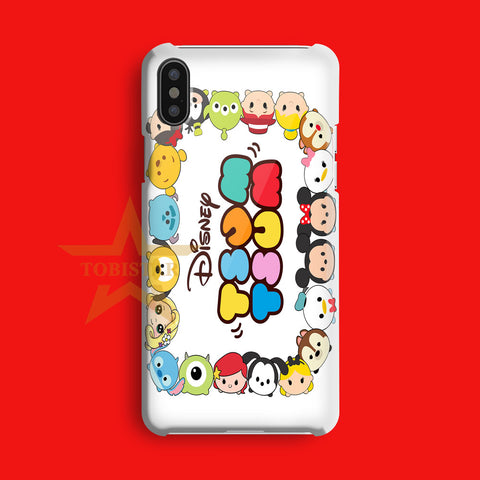 disney tsum tsum my case cute iPhone X Case