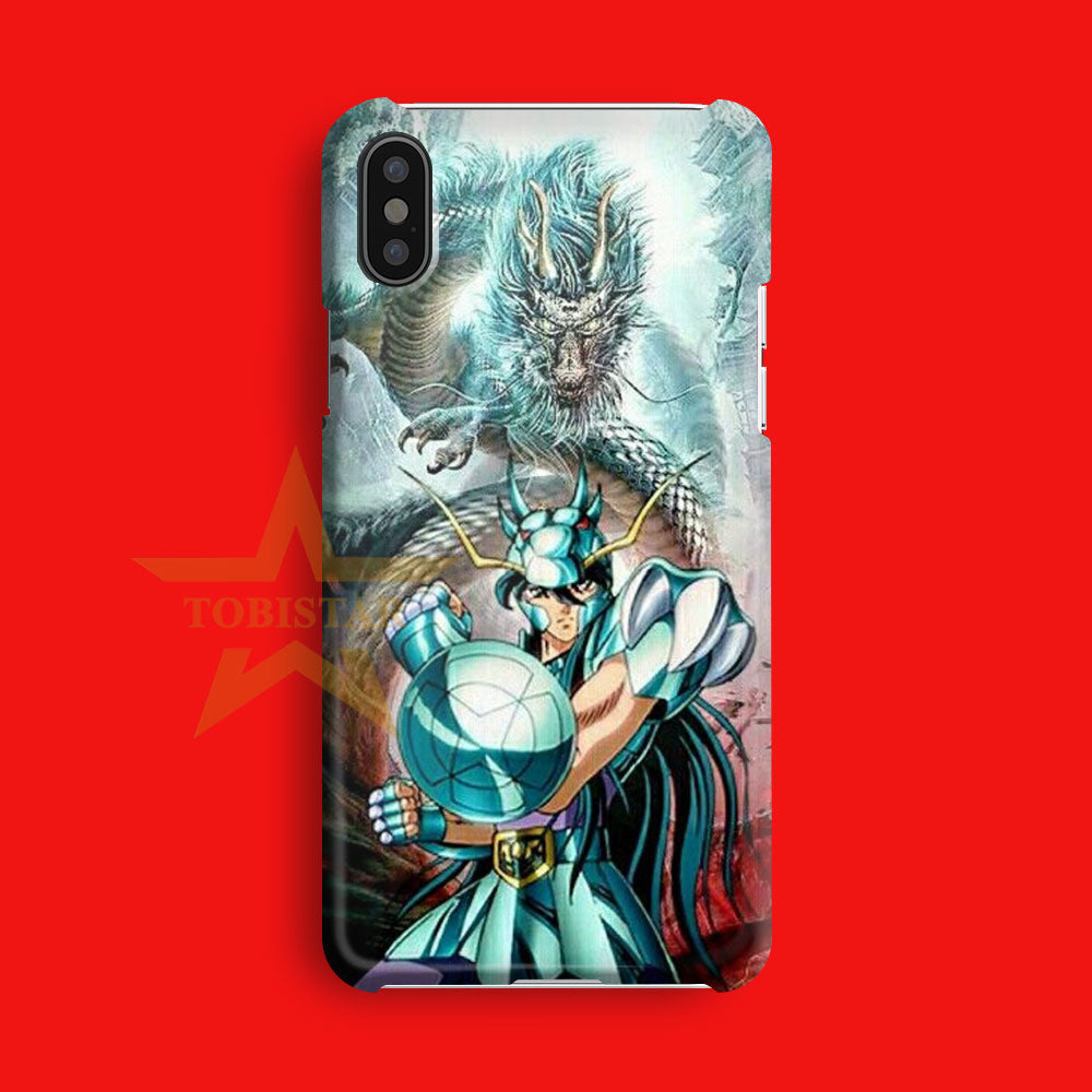 dragon shiryu saint seiya cosmo iPhone X Case