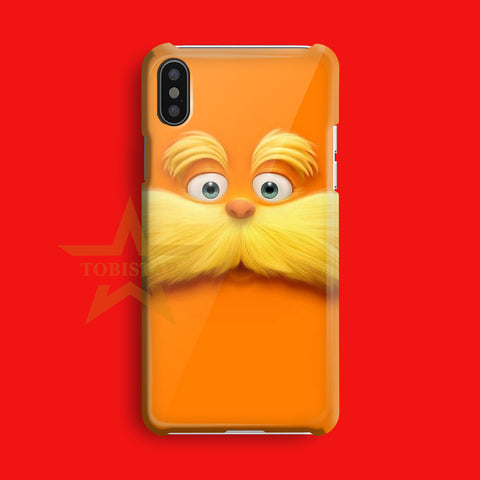 garfield cat face cute 3d iPhone X Case
