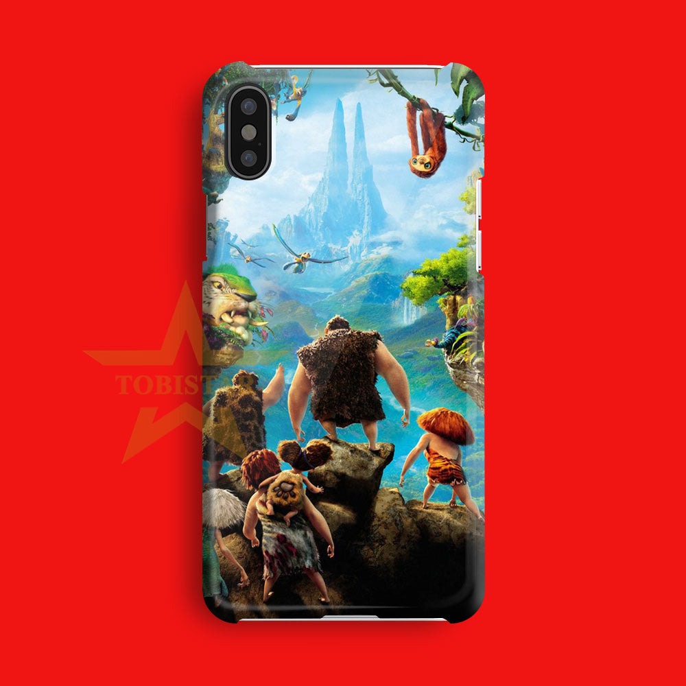ice age adventure the human primitif iPhone X Case