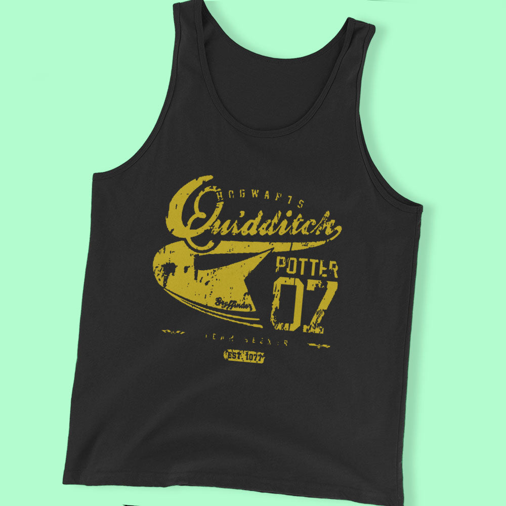 Harry Potter  Quidditch Shirt By Soulthrow By Jody Men'S T Shirt