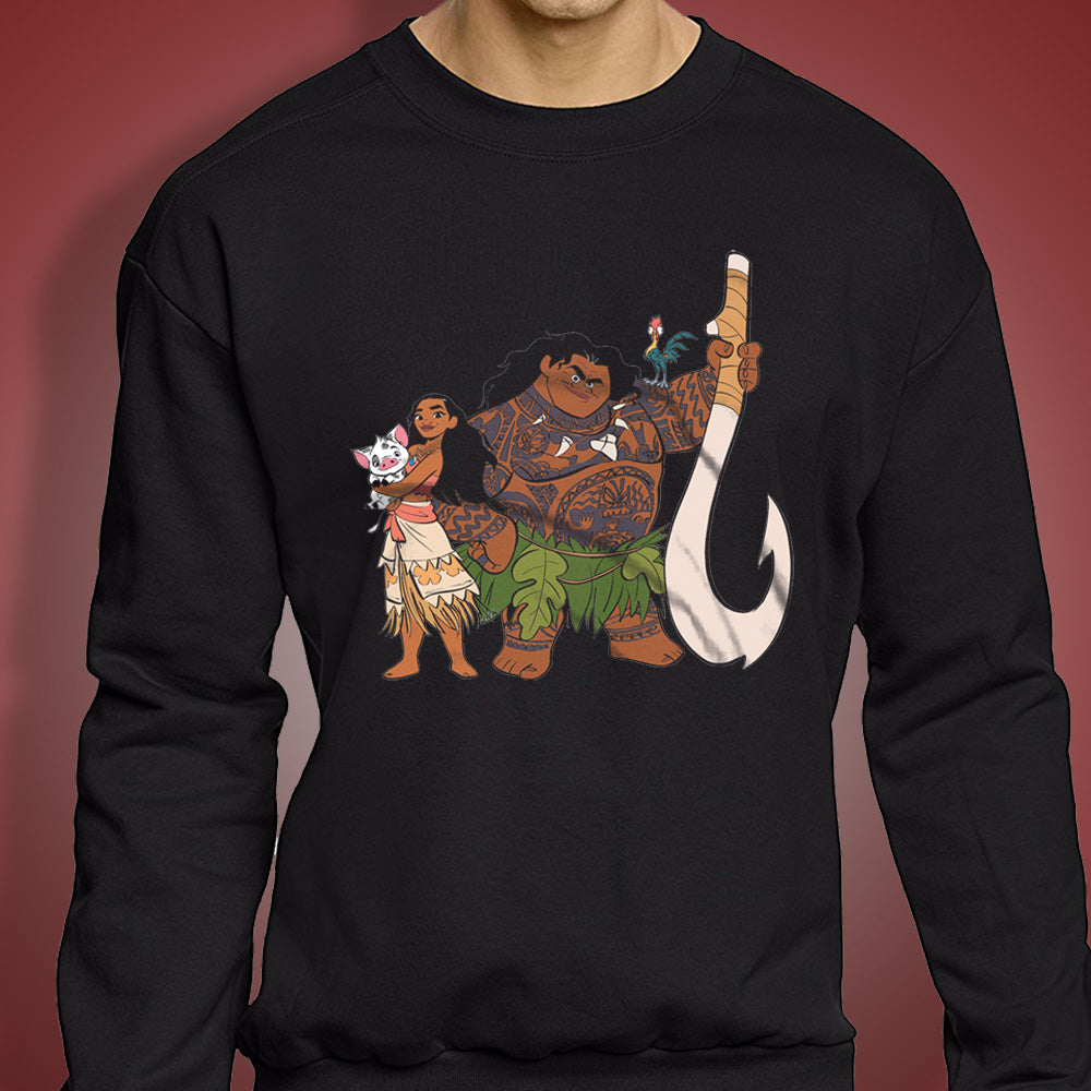 Heihei Moana Disney Indiana Men'S Sweatshirt