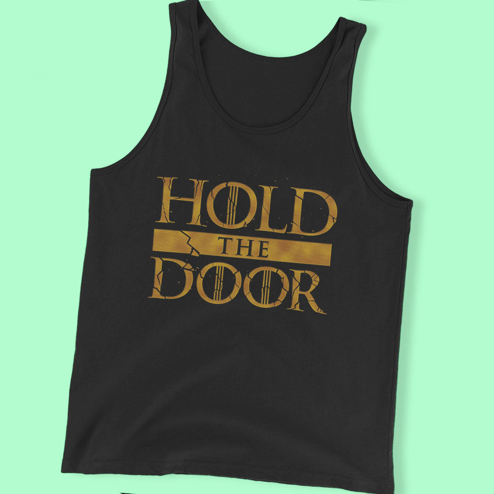 Hold The Door Men'S Black T Shirt Men'S T Shirt