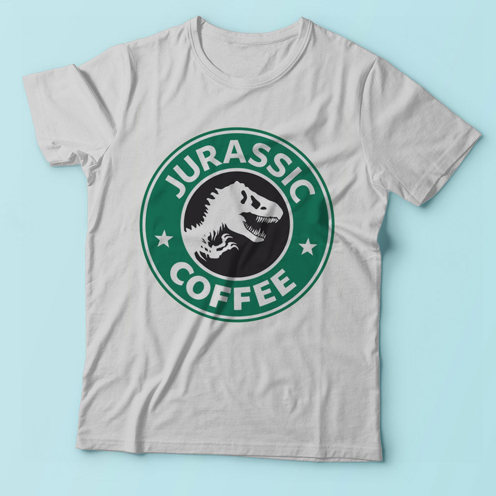 Jurassic Coffee Men'S T Shirt