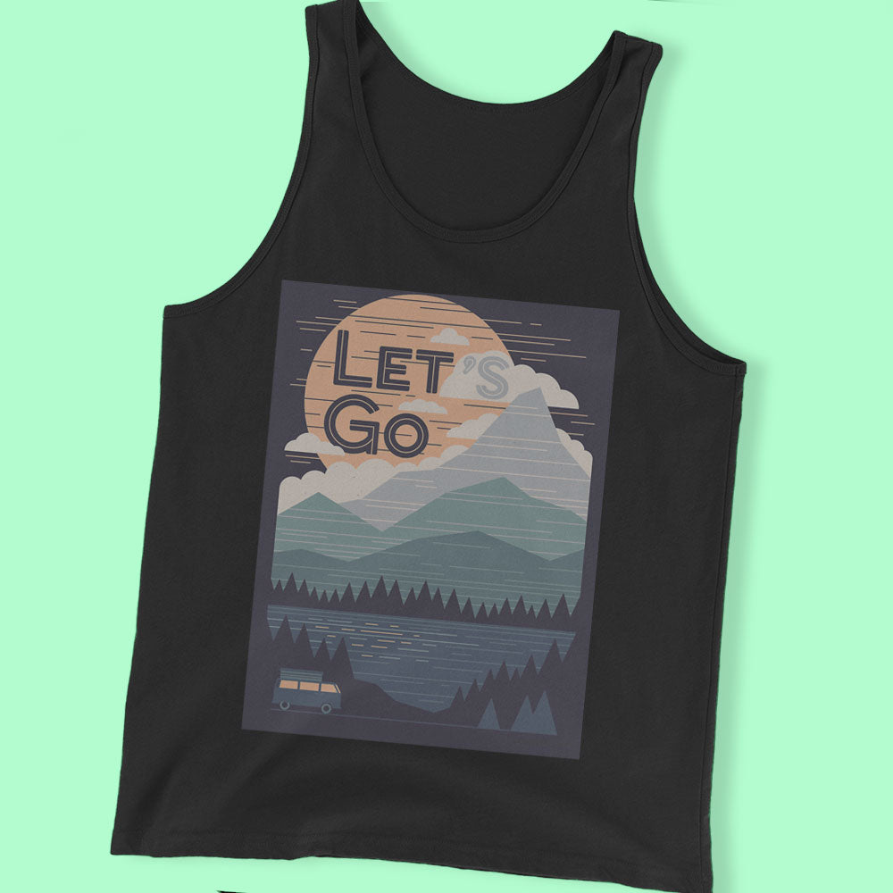 Lets Go Men'S T Shirt