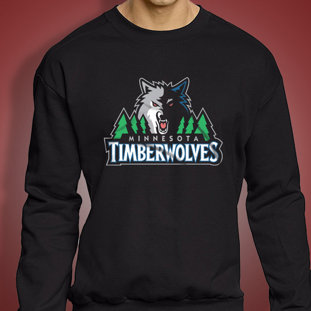 Minnesota Timberwolves Logo Men'S Sweatshirt
