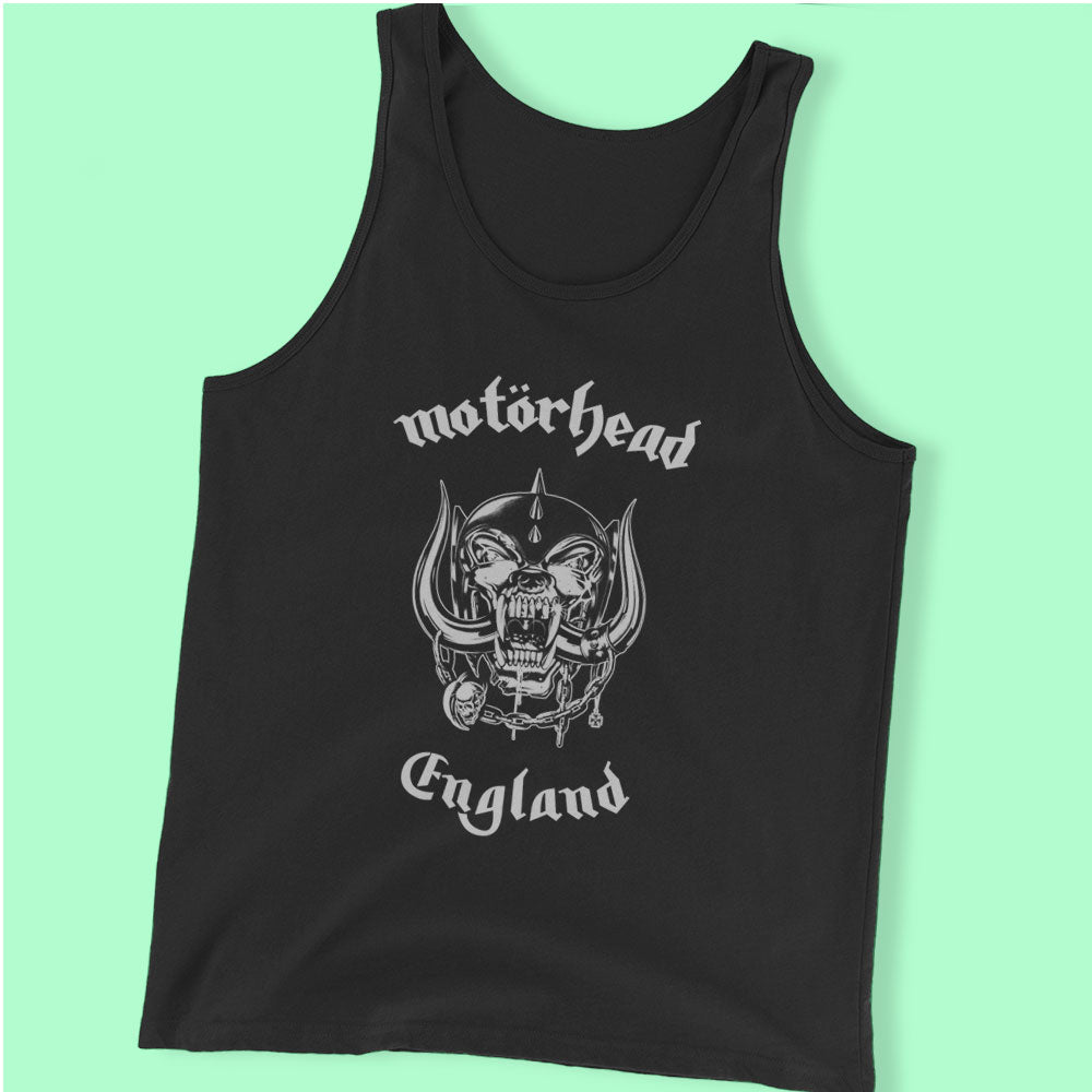 Motorhead Everything Louder England Men'S Tank Top