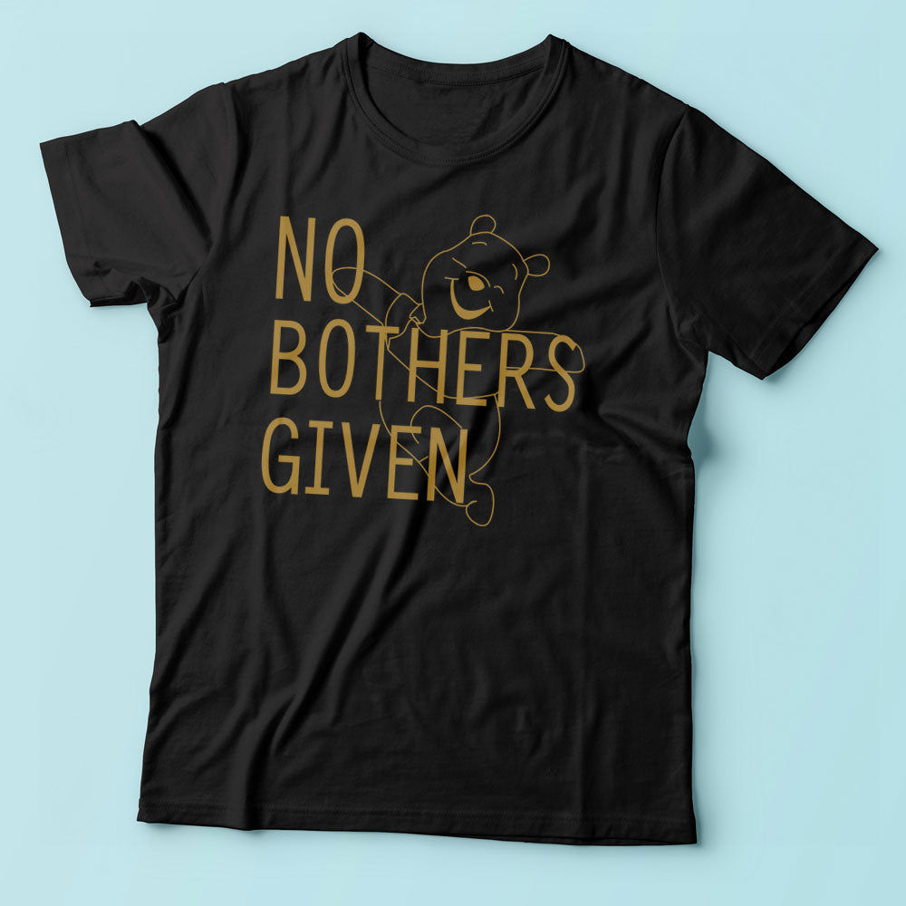 No Bothers Given Winnie The Pooh Disney Men'S T Shirt