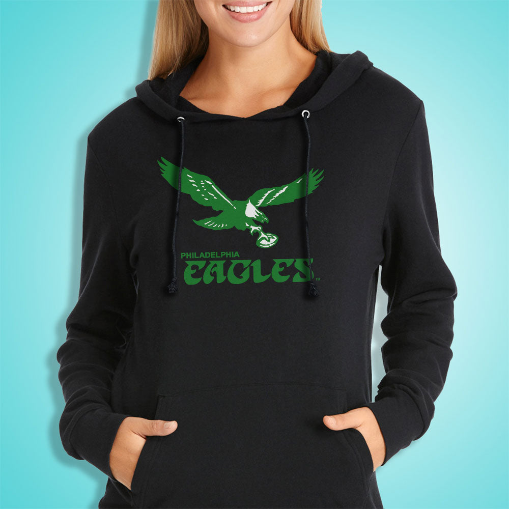 brand new 9bf59 ddc3a Philadelphia Eagles Nfl Club Logo Women'S Hoodie