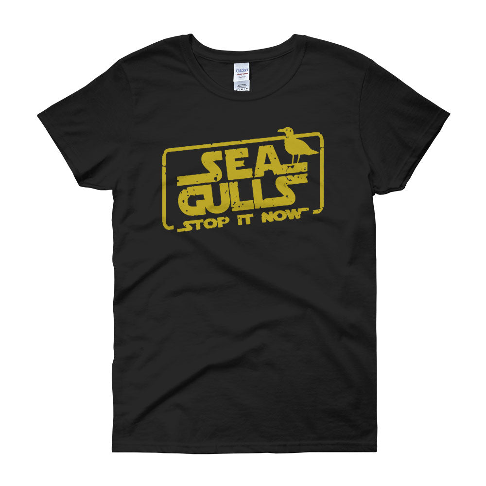 Seagulls Stop It Now Star Wars Women'S T Shirt