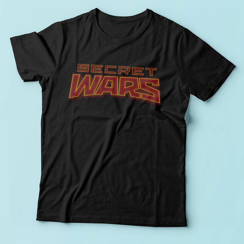 Secret Wars Logo Marvel Men'S T Shirt